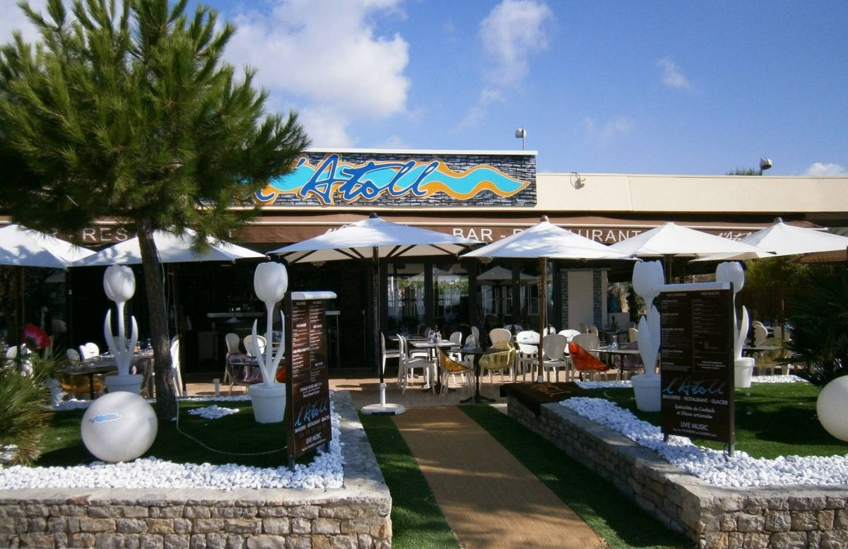 Restaurant - L'Atoll - Saint-Laurent-du-Var